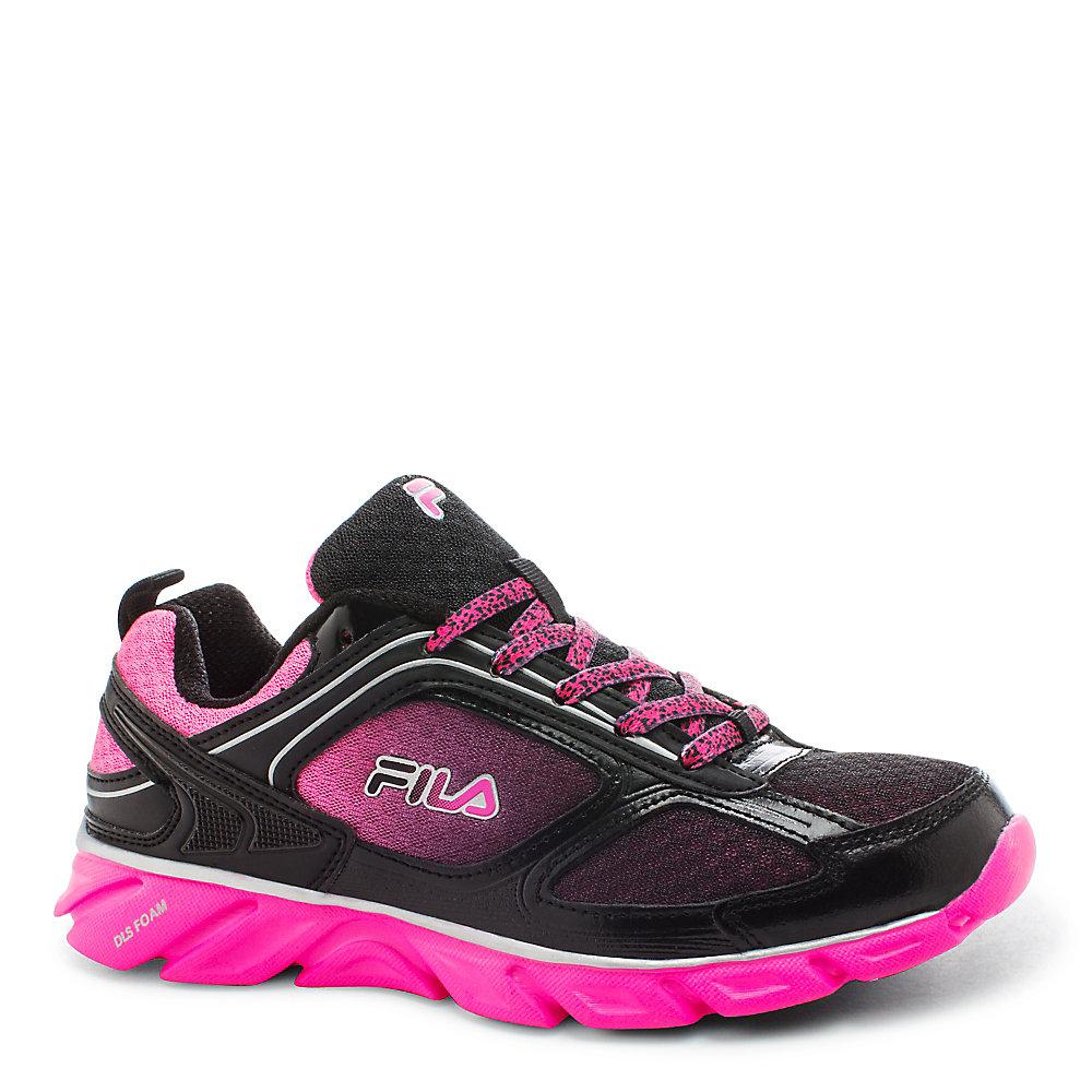 fila running shoes womens. women\u0027s fila stride 3 in shockingpink running shoes womens o