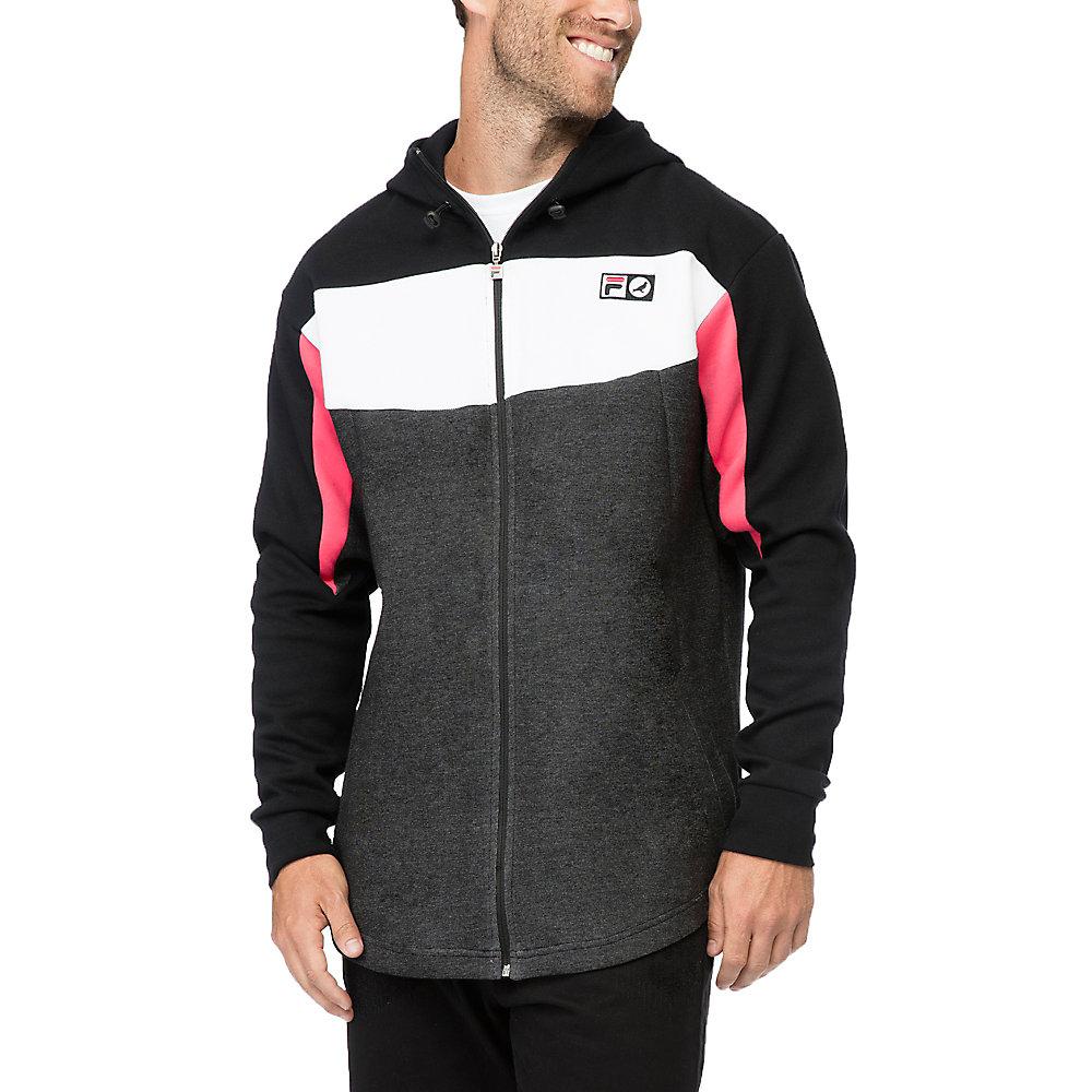 zip front hoodie in NotAvailable