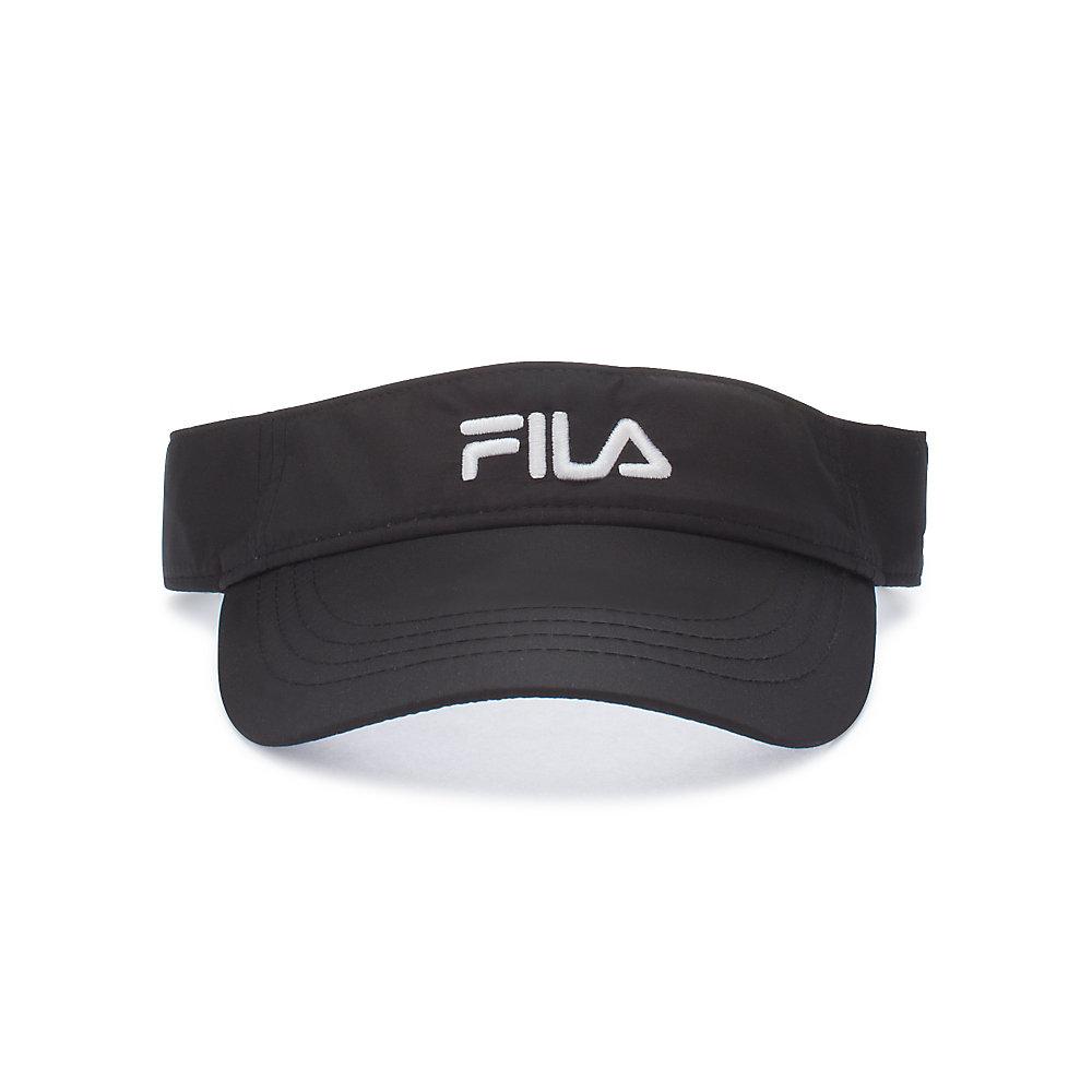 performance runner visor in black