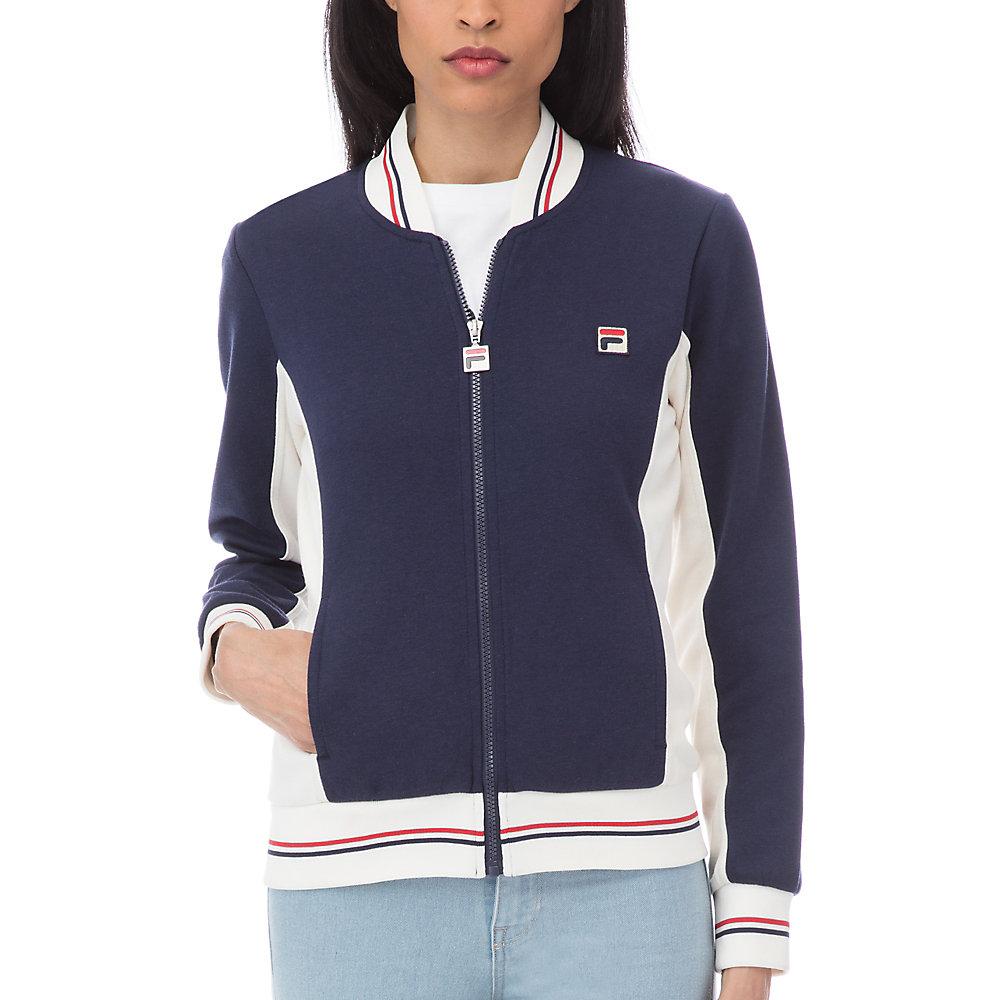 settanta jacket in navy