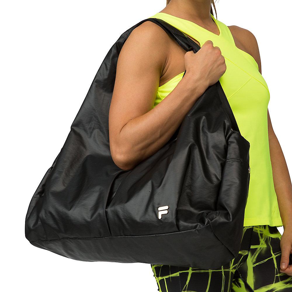 platinum bag in black