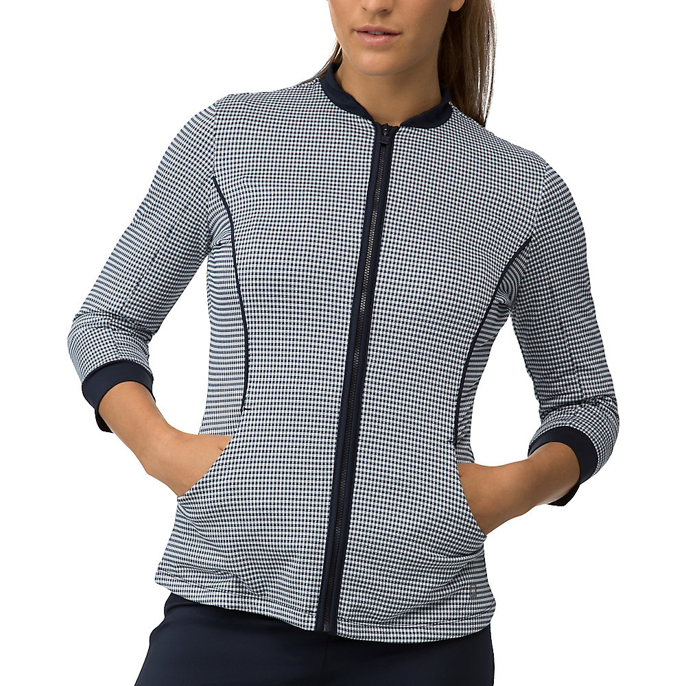 gingham jacket in TW161MU1_411_sw_e